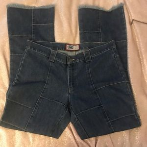 Old Navy patchwork jeans 16